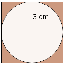 circle inscribed in a square
